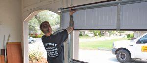 Process of garage door installation