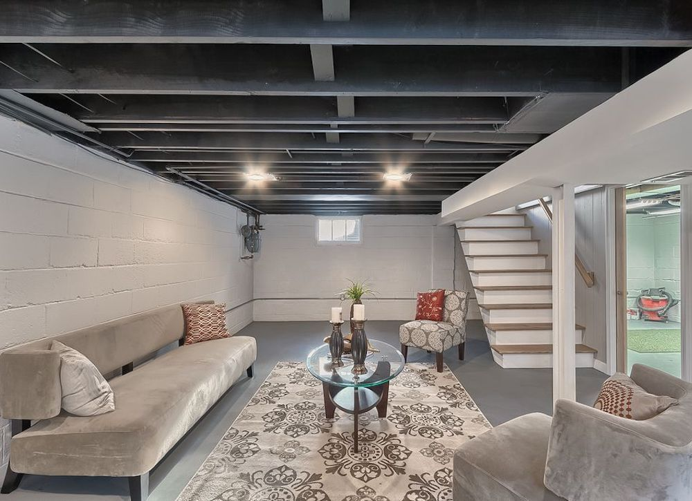 Basement ceiling ideas – Creative basement repair the easy way